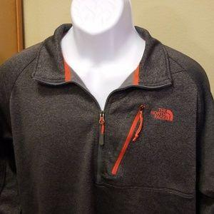 North face quarter zip jacket XL